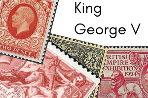 GB stamps - King George V